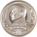 Books, Rittenhouse Society. Centennial Medal Struck in Celebration of EricP. Newman's 100th Birthday. 60 mm. .999 silver. Obverse ...