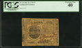Colonial Notes:Continental Congress Issues, Continental Currency July 22, 1776 $7 PCGS Extremely Fine 40.. ...