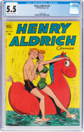 Golden Age (1938-1955):Romance, Henry Aldrich Comics #12 (Dell, 1952) CGC FN- 5.5 Off-white towhite pages....