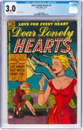 Golden Age (1938-1955):Romance, Dear Lonely Hearts #3 (Comic Media, 1953) CGC GD/VG 3.0 Off-whitepages....