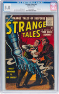 Silver Age (1956-1969):Horror, Strange Tales #49 (Atlas, 1956) CGC VG/FN 5.0 Off-white pages....