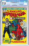 Bronze Age (1970-1979):Superhero, The Amazing Spider-Man #129 (Marvel, 1974) CGC VF- 7.5 Off-white towhite pages....