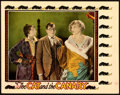 """Movie Posters:Horror, The Cat and the Canary (Universal, 1927). Lobby Card (11"""" X 14""""). From the Collection of Frank Buxton, of which the sale's..."""
