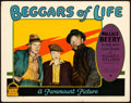 "Movie Posters:Drama, Beggars of Life (Paramount, 1928). Lobby Card (11"" X 14""). Fromthe Collection of Frank Buxton, of which the sale's procee..."
