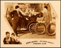 """Perfect Day (MGM, 1929). Lobby Card (11"""" X 14""""). From the Collection of Frank Buxton, of which the sale's proc..."""
