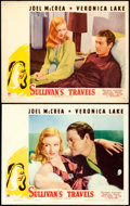 """Movie Posters:Comedy, Sullivan's Travels (Paramount, 1941). Lobby Cards (2) (11"""" X 14"""").From the Collection of Frank Buxton, of which the sale'...(Total: 2 Items)"""