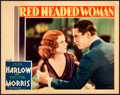 "Movie Posters:Drama, Red Headed Woman (MGM, 1932). Lobby Card (11"" X 14"").. ..."