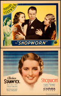 "Movie Posters:Drama, Shopworn (Columbia, 1932). Title Lobby Card & Lobby Card (11"" X 14"").. ... (Total: 2 Items)"