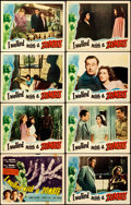 """Movie Posters:Horror, I Walked with a Zombie (RKO, 1943). Lobby Card Set of 8 (11"""" X14"""").. ... (Total: 8 Items)"""