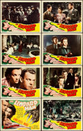 """Movie Posters:Horror, The Leopard Man (RKO, 1943). Lobby Card Set of 8 (11"""" X 14"""").. ... (Total: 8 Items)"""