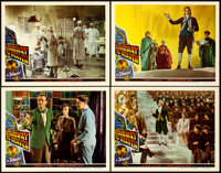 "Stairway to Heaven (Universal International, 1946). a.k.a. A Matter of Life and Death. Lobby Cards (4) (11"" X 14&qu..."