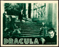 "Movie Posters:Horror, Dracula (Universal, R-1938). Lobby Card (11"" X 14"").. ..."