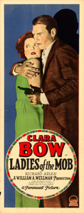 """Movie Posters:Crime, Ladies of the Mob (Paramount, 1928). Insert (14"""" X 36"""").. ..."""