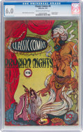 Golden Age (1938-1955):Classics Illustrated, Classic Comics #8 Arabian Nights - First Edition (Gilberton, 1943) CGC FN 6.0 Cream to off-white pages....