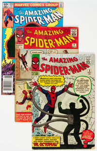 The Amazing Spider-Man #3, 4 and 229 Group (Marvel, 1963). ... (Total: 3 )