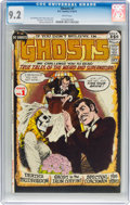 Bronze Age (1970-1979):Horror, Ghosts #1 (DC, 1971) CGC NM- 9.2 White pages....