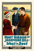 "Movie Posters:Western, West is Best (Universal, 1920). One Sheet (27.75"" X 41"").. ..."