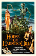 "Movie Posters:Horror, House on Haunted Hill (Allied Artists, 1959). One Sheet (27"" X 41"")Reynold Brown Artwork.. ..."