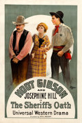 "Movie Posters:Western, The Sheriff's Oath (Universal, 1920). One Sheet (27.5"" X 41"").. ..."