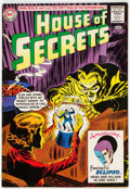 Silver Age (1956-1969):Horror, House of Secrets #61 (DC, 1963) Condition: FN....