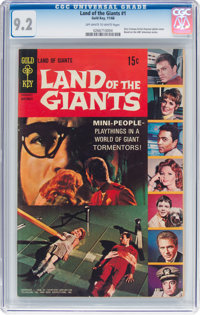 Land of the Giants #1 (Gold Key, 1968) CGC NM- 9.2 Off-white to white pages