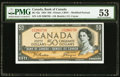 Canadian Currency, BC-42a $50 1954. ...
