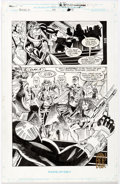 Original Comic Art:Panel Pages, John Heebink and Don Hudson Nick Fury, Agent of S.H.I.E.L.D.#43 Story Page 10 Original Art (Marvel, 1993)....
