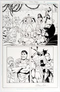 Original Comic Art:Panel Pages, Colleen Doran Justice League 3001 #6 Story Page 17 OriginalArt (DC, 2016)....
