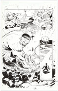 Original Comic Art:Panel Pages, Lee Weeks World War Hulk Prologue: World Breaker #1 StoryPage 24 Original Art (Marvel, 2007)....