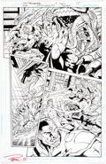 Original Comic Art:Panel Pages, Paul Pelletier and Sandra Hope Justice League #51 Story Page15 Original Art (DC, 2016)....
