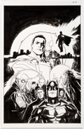 Original Comic Art:Covers, Ryan Sook The New 52: Futures End #45 Cover Original Art(DC, 2015)....
