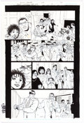 Original Comic Art:Panel Pages, Cully Hamner Black Lightning: Year One #3 Story Page 12Original Art (DC Comics, 2009)....
