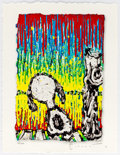 Memorabilia:Comic-Related, Tom Everhart Twisted Coconut Peanuts/Snoopy Signed LimitedEdition Print #153/295 (SPS Limelight Agency, 2013)....