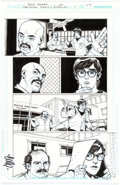 Original Comic Art:Panel Pages, Cully Hamner National Comics: Eternity #1 Story Page 17Original Art (DC Comics, 2012)....