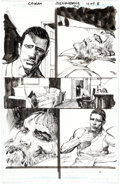 Original Comic Art:Panel Pages, Denys Cowan and Bill Sienkiewicz Green Arrow #25 Story Page4 Original Art (DC Comics, 2014)....