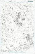 Original Comic Art:Splash Pages, Philip Tan Forever Evil: A.R.G.U.S. #1 Splash Page 19Original Art (DC, 2013)....
