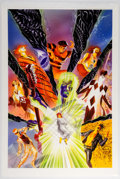 Original Comic Art:Covers, Alex Ross Astro City: Broken Melody Hardcover CollectionPainted Cover Original Art (DC/Vertigo, 2018)....