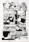 Original Comic Art:Panel Pages, Jerry Ordway Trinity #3 Story Page 15 Original Art (DC,2008)....