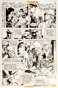Original Comic Art:Panel Pages, José Luis García-López Jonah Hex #2 Story Page 4 OriginalArt (DC, 1977)....
