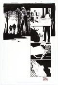 Original Comic Art:Panel Pages, Eduardo Risso 100 Bullets #99 Story Page 17 Original Art(DC/Vertigo, 2009)....