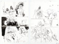 Original Comic Art:Panel Pages, Bill Sienkiewicz DC First: Batgirl/Joker #1 Story Pages 20and 36 Original Art Group of 2 (DC, 2002).... (Total: 2 OriginalArt)