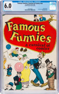 Platinum Age (1897-1937):Miscellaneous, Famous Funnies: A Carnival of Comics #nn (Eastern Color, 1933) CGCFN 6.0 Cream to off-white pages....
