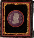 Political:Tokens & Medals, Ulysses S. Grant: Pretty Composition or Lava High Relief Medal in Presentation Case....