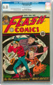 Flash Comics #60 (DC, 1944) CGC FN 6.0 Off-white to white pages