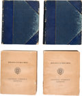 Books, Davis, Andrew McFarland. Colonial Currency Reprints,1682-1751, with an Introduction and Notes. Four volumes,comple...