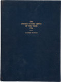 Books, Chapman, S. Hudson. The United States Cents of the Year1794. Second edition, first printing. Philadelphia, 1926. 4to,o...