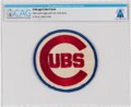 Explorers:Space Exploration, Chicago Cubs Patch, Directly From The Armstrong Family Collection™, Certified and Encapsulated by Collectibles Authentication ...