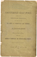 Books, Betts, C. Wyllys. Counterfeit Half Pence Current in the AmericanColonies, and Their Issue from the Mints of Connectic...