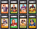 Football Cards:Sets, 1963 Topps Football High Grade Football Set (170)....