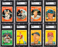 Baseball Cards:Lots, 1958 and 1959 Topps Baseball Collection (340+)....